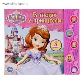 Книга «В гостях у Принцессы» музыкальная, 10 страниц