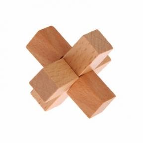 Головоломка деревянная мини № 6