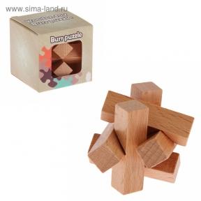 Головоломка деревянная мини № 10
